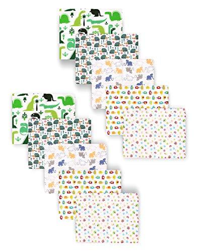 Be Mammy Baby Windelsets Stoffwindeln Mulltücher 80x80 cm 10er Pack BESD003 (Junge1 (10 Pack), 80x80)