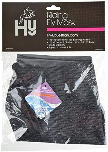 Hy-Fly Mask-Mascherina antimosche per Cavallo da Equitazione