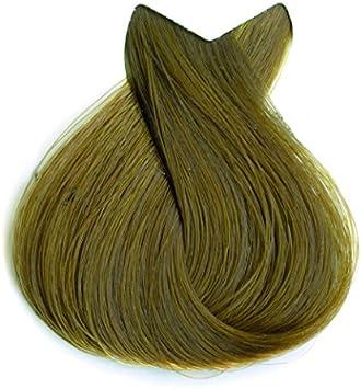Tahe Botanic Gold Tinte Cabello Profesional/Tinte Pelo/Coloración Capilar Permanente Sin Amoniaco, Nº 6.13 Rubio Oscuro Ceniza Dorado, 100 ml