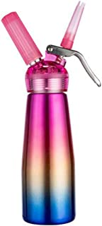 ROARINGWILD Cream Dispenser Foamer Stainless Steel Nitrogen Siphon Bottle 500ml / 1 Pint 250ml / 0.5Pint (A)