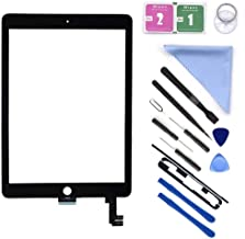 First Choose Black New Glass Touch Screen Digitizer Replacement for iPad Air 2 9.7