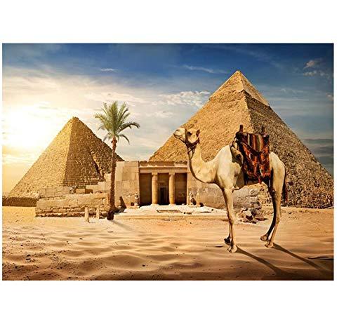 Diamante Pintura Artesanía Cuadrado Taladro Bordado Las Pirámides Egipto Diamantes De Imitación Decoración Del Hogar 30 Cm X 40 Cm