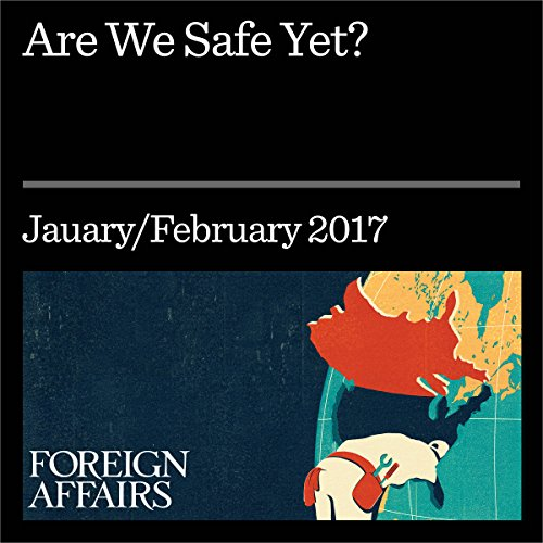 Are We Safe Yet? audiobook cover art