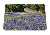 22cmx18cm マウスパッド (野の花回転木) パターンカスタムの マウスパッド