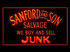Sanford and Son Salvage Buy Sell Junk Led Light Sign