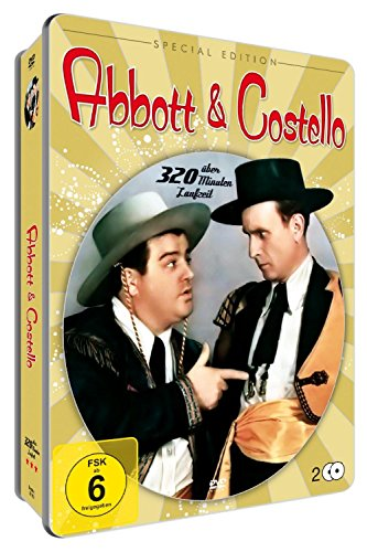 BEST OF ABBOT & COSTELLO (Metallbox - Special Edition) [2 DVDs]