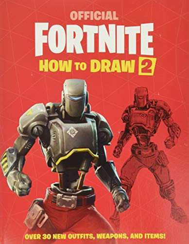 FORTNITE (Official): How to Draw 2 (Official Fortnite Books)
