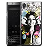 DeinDesign Hard Hülle kompatibel mit BlackBerry KeyOne Schutzhülle schwarz Smartphone Backcover Soy Luna Disney