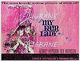 PostersAndCo TM My Fair Lady Film Rizf-Poster/Reproduktion