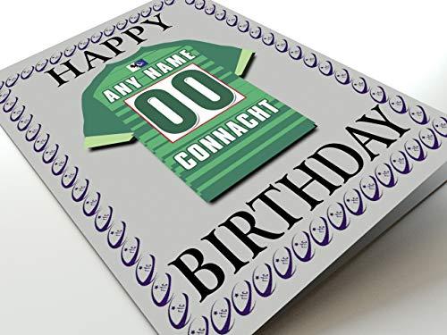 Guinness Pro 12Rugby-Union-Club Kühlschrank Magnet Geburtstag Karten–Jeder Name, beliebige, jedes Team., damen, Connacht Rugby Fridge Magnet Card