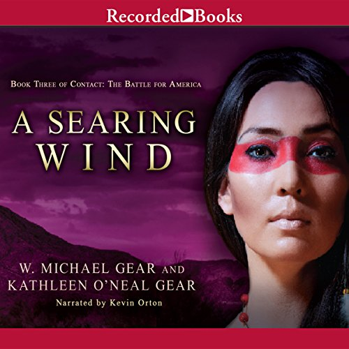 A Searing Wind audiobook cover art