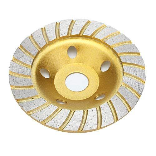 Tokyia 5 Pulgadas de Diamante Muela Disco 5 Agujeros de mármol hormigón Granito Piedra Herramientas industriales