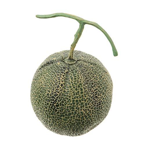 HomeDecTime Frutta Artificiale Finta Decorativa per L'ornamento del Gabinetto del Pub del Partito della Cucina Domestica - Hami Melon