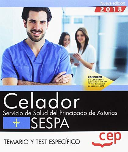 Celador del Servicio de Salud del Principado de Asturias. SESPA. Temario y test específico: 2
