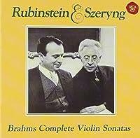 Brahms: Complete Violin Sonatas by Henryk Szeryng (2012-07-28)