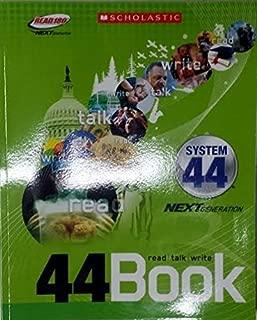 Scholastic Read 180 Next Generation System 44 Stage C 44Book Read/Talk/Write