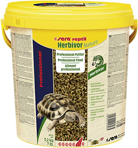 Sera Reptil Professional Herbivor, alimento profesional para reptiles ⭐