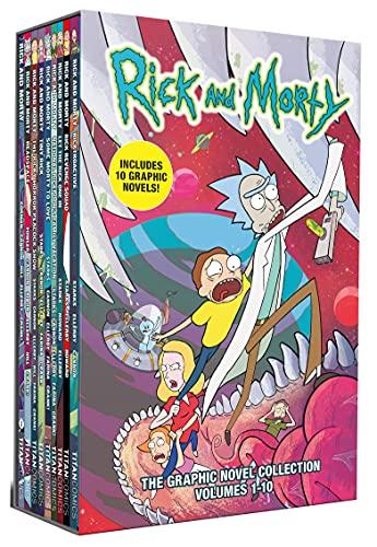 Rick & Morty 10 Books Collection Box Set