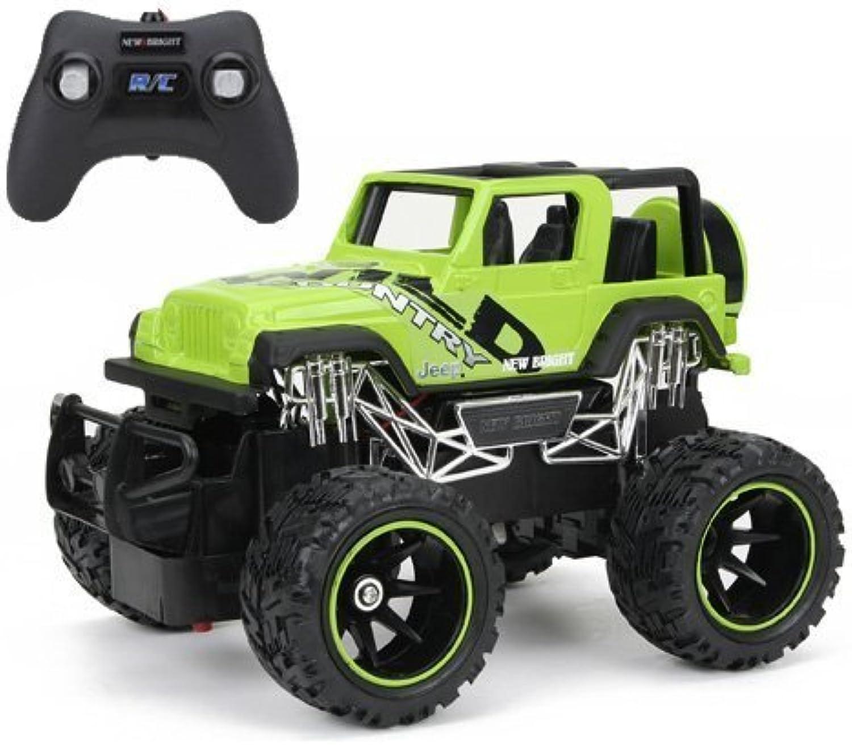 diseñador en linea New Bright Bright Bright F F Jeep Wrangler RC Coche (1 24 Scale) by New Bright  en promociones de estadios