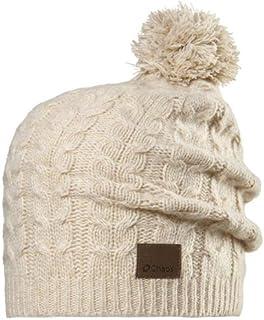 Chaos 女士羊绒无檐小便帽带毛线