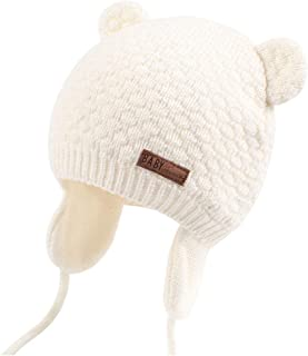 Kids Baby Hat Soft Warm Cable Knit Beanie Toddler Girl Fall Winter Hats