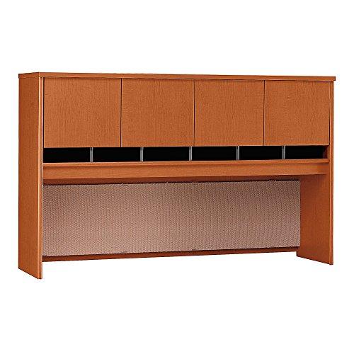 Bush Business Furniture Series C 72W 4 Door Hutch in Auburn Maple