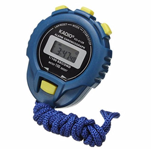 Howstar Manual Counter LCD Chronograph Digital Timer Stopwatch Sport Counter Odometer Watch Alarm