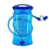 B-Earth - Sacca idrica, senza bisfenolo A, capacità di 3 litri, con apertura grande, anti-goccia, per ciclismo, escursionismo, militari, campeggio, ciclismo e corsa