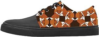 Custom Fox Women's Canvas Shoes Le Scarpe Le Scarpe Le Scarpe.