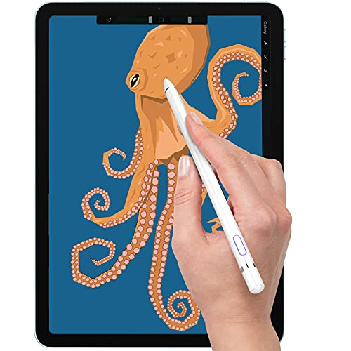 Stylus Pen Compatible with iPad, Drawing Stylist Smart Pencil Compatible with iPad 2/3/4/5/6/7/8 Generation Air 1/2/3/4 Pro 9.7/10.5/11/12.9 and Mini 1/2/3/4/5