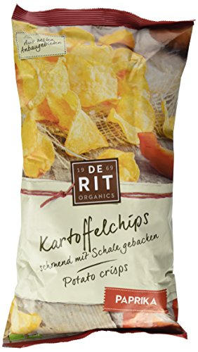 De Rit Kartoffelchips Paprika, 5er Pack (5 x 125 g)