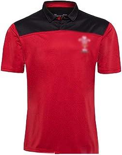 ラグビージャージ、2020ウェールズTシャツラグビージャージージャージー、ラグビーファンの衣類、ラグビージャージ、メンズラグビートレーニング服(S-5XL) (Size : M)