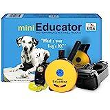 Educator E-Collar - ET-300-1/2 Mile Remote Waterproof Trainer Mini Remote Training Collar - 100 Training Levels Plus Vibration and Sound - Includes PetsTEK Dog Training Clicker