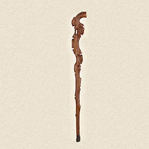 HAIYING Wandelen Stick Klassieke Handgesneden Effen Houten Plant Krukken/Wandelen Sticks Oudere Geschenken