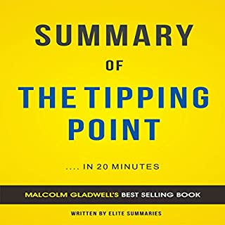 The Tipping Point: by Malcolm Gladwell | Summary & Analysis audiobook cover art