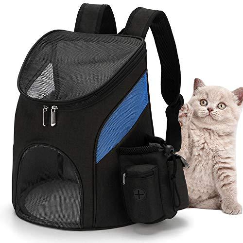 Ryoizen Hunde Rucksäcke Haustier Reise Rucksack Atmungsaktive Haustiertragetasche Outdoor für Hunde Katzen Welpen zu Wandern Reisen Camping Tägliche Verwendung 33x30x24