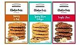 Farmhouse Biscuits Gluten Free Cookies Selection - Selección de galletas sin gluten de Farmhouse Biscuits - Galletas 'Spicy Stem Ginger', 'Triple Chocolate' Cookies y 'Honey Oat' Cookies '