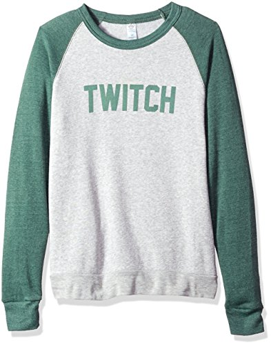 Twitch - Colorblock Crewneck Sweatshirt - Männer - Kiefer/Haferflocken - M