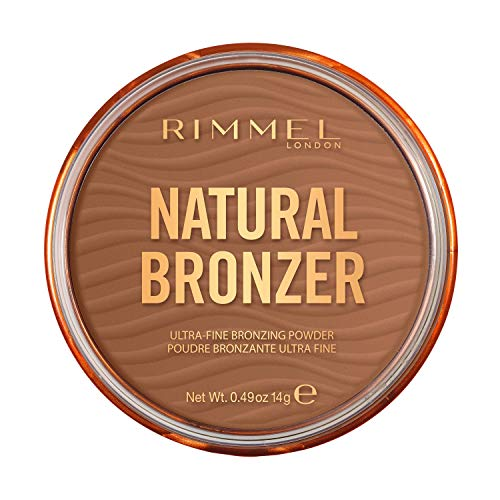 Rimmel London Natural Bronzer, Bronceador, Tono 3 Sunset - 14 g