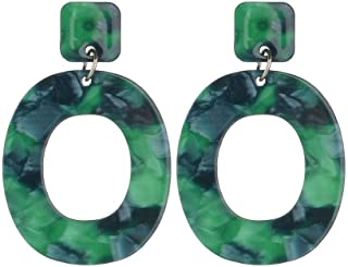 Statement Earrings for Women Handmade Bohemian Lightweight Dangle Fashion Cute