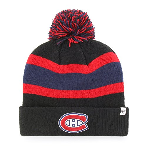 47 Brand NHL Montreal Canadiens Breakaway Cuff Knit Beany Hat One Size Mütze Forty Seven