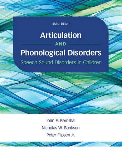 Download Articulation And Phonological Disorders: Speech Sound Disorders In Children 
