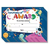 Lesnala 50 PCS Printable Certificate of Award for Children,Teachers and Students, Parents and Children, End of Semester, Back to School,Home Study Supplies (8.3 x 11 Inches)