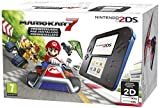 Nintendo 2DS - Consola, Color Azul + Mario Kart 7 (Preinstalado)