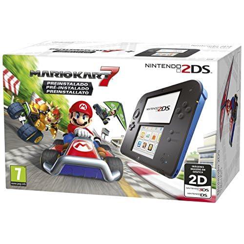 Nintendo 2DS, Azul + Mario Kart 7 Preinstallato
