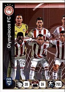 2015-16 Panini FIFA 365 Stickers #537 Olympiacos FC Team