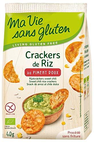 Ma Vie Sans luten Crackers de Riz Au Piment Doux 0.4 g 1 Unité