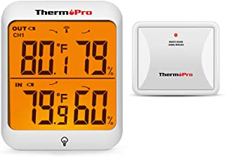 tempminder wireless indoor outdoor thermometer