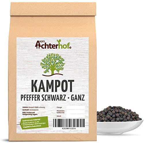 100 g Kampot-Pfeffer schwarz Kampotpfeffer schwarze Pfefferkörner aus Kambodscha für die Pfeffermühle