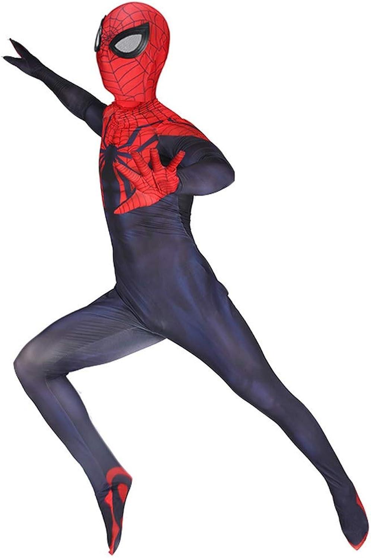 encuentra tu favorito aquí TOYSJuegoS último último último Traje de CosJugar de Spiderman Traje elástico Ajustado para Adultos Escenario de película de Halloween Juego de Disfraces ( Color   Azul , Talla   XL )  gran descuento
